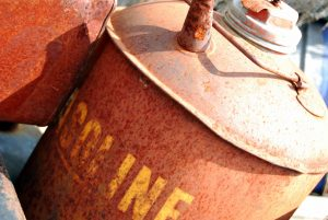 Rusty Gas Can by Shawn Nystrand