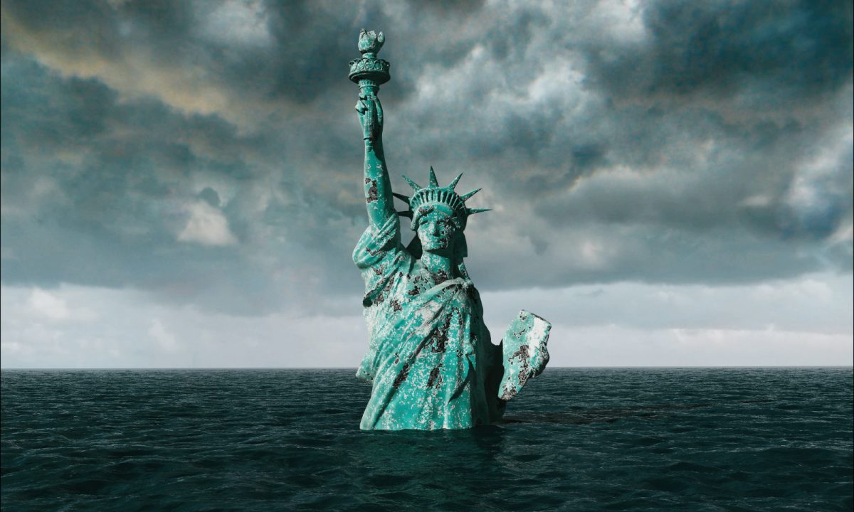 Drowned Statue of Liberty